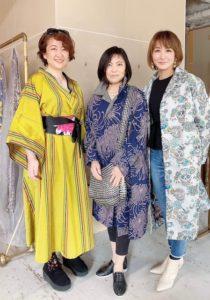 キモノドレス&ジャケット madame  Chica-co collection展示会 @ 美命の会所