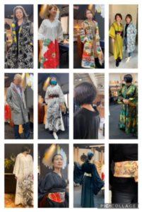 madam Chicaco collection のキモノドレス&ジャケット展 @ 美命の会所